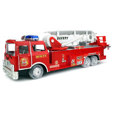 100 Pink Fire Truck Toy Velocity S Bump And Go Battery Operated Kids Safety Rescue