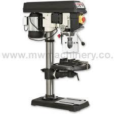 jet jpd 15 piller drill jet drill press jet machinery mw