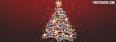 Christmas Tree Facebook Cover Profile 2748