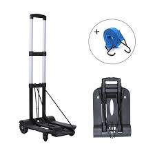 Maxgoods Portable Folding Hand Truck, Heavy Duty 4-Wheel Solid ... Cosco Shifter 300 Lb 2in1 Convertible Hand Truck And Cart In Roty Heavy Duty 70kg Weight Capacity Industrial Trolley Magna Flatform Four Wheel Folding Harper 150 Truckhmc5 The Home Depot Magliner Twowheel With Straight Fta19e1al Kinzo Folding Hand Truck 90 Kg Personal Alinum Price From Souq Uae 200kg Stair Climbing W Mount It 264 Dolly Wayfair Orange Seville Classics Lweight Dollyluggage Luggage Utility