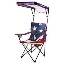 100 Folding Chair With Carrying Case Quik Shade With US Flag Red Products In 2018