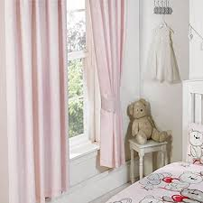 Pale Pink Curtains Designs