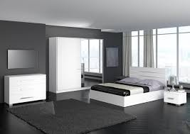 chambre design pas cher chambre a coucher grise et blanche