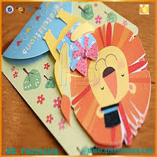 Wholesale Great Handmade Border Greeting Card Designs Diy Children