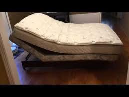 Sleep Comfort Adjustable Bed by Full Size Sleep Number Adjustable Frame Youtube