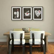 Wine Kitchen Decor Sets by Lovely Kitchen Decor 3 Set Brown Wooden Style Background Wine