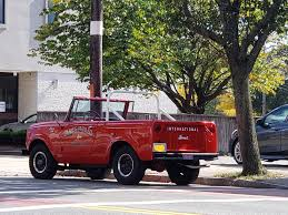 100 International Scout Truck Everything Relating To Harvester S