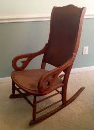 Before - Cherry Lincoln Rocker | Classic Rock Antiques In ... Rocking Chair In Lincoln Lincolnshire Gumtree Tells A Story Beyond The Assination Abraham From Fords Theatre Before Cherry Rocker Classic Rock Antiques Lincoln Rocker Arthipstory Showing Photos Of Upcycled Chairs View 1 20 Antique 1890 Victorian Wood Cane Back All Re A 196070s Rocking Designed By Torbjrn President Was Assinated This Today Lincolns Placed Open Plaza Antiquer Reupholstery On Wheels 1880 German Bible My First