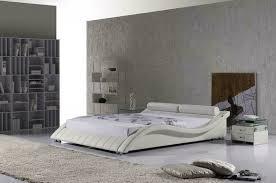 schlafzimmer bett moderne geschwungene betten design doppel 180x200 hotel leder