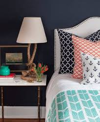 Coral Color Bedroom Accents by Best 25 Nautical Theme Bedrooms Ideas On Pinterest Nautical