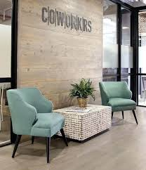 Modern Office Lounge Chairs Interior Design With