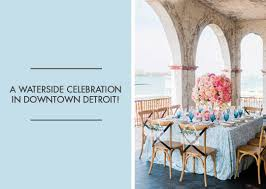 100 Boathouse Designs An Outdoor Wedding At The Belle Isle Boat House In Detroit Michigan