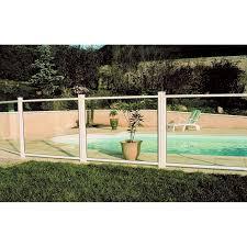 barriere escalier leroy merlin barrière pour piscine aluminium esterel blanc 9010 h 120 x l 100