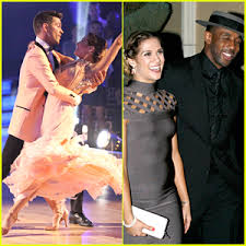 Andy Grammer Allison Holker Hit Practice After Performing The Prettiest Foxtrot Ever On DWTS