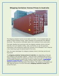 100 Container Homes Prices Australia Shipping In By Australasian