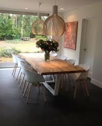 modern neu eichebaum 220100 4cm massiv holz esstisch luxus