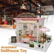 Amazoncom Melissa Doug MultiLevel Wooden Dollhouse With 19 Pcs