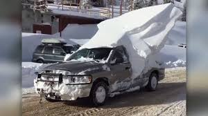 100 Trucks In Snow Theres NOT Clearing Snow Off Your Car Then Theres THIS YouTube