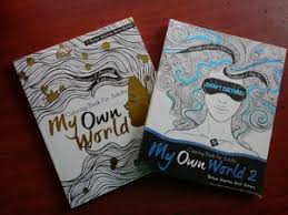Paket My Own World Coloring Book For Adults 1 Dan 2