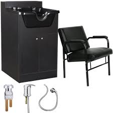 beauty salon equipment shoo bowl sink cabinet with chair