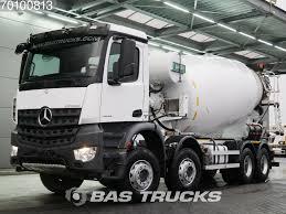 100 Mercedes 6 Wheel Truck MERCEDESBENZ Arocs 4142 8X4 12m3 BigAxle Steelsuspension Euro