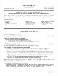 Resume Samples For Logistics Jobs