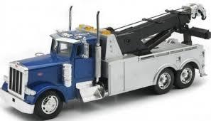 New Ray Radio Control Scale 1:32 Peterbilt Tow Truck W/ Sound ...