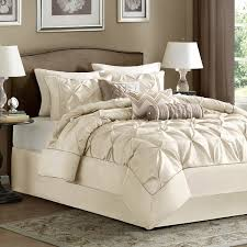 Lush Decor Serena Bedskirt by Madison Park Lafayette Ivory 7 Piece Comforter Set Free Shipping