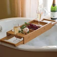 Bathtub Caddy With Reading Rack by 15 Bathtub Tray Design Ideas For The Bath Enthusiasts Among Us