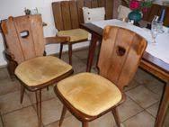 tisch stühle buche massiv zu verschenken