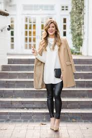 83 Staggering Outfits For Winter Date Night With Faux Leather Liquid Leggings Women