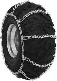 100 Snow Chains For Trucks 2 Pc ATV VBar Tire Princess Auto