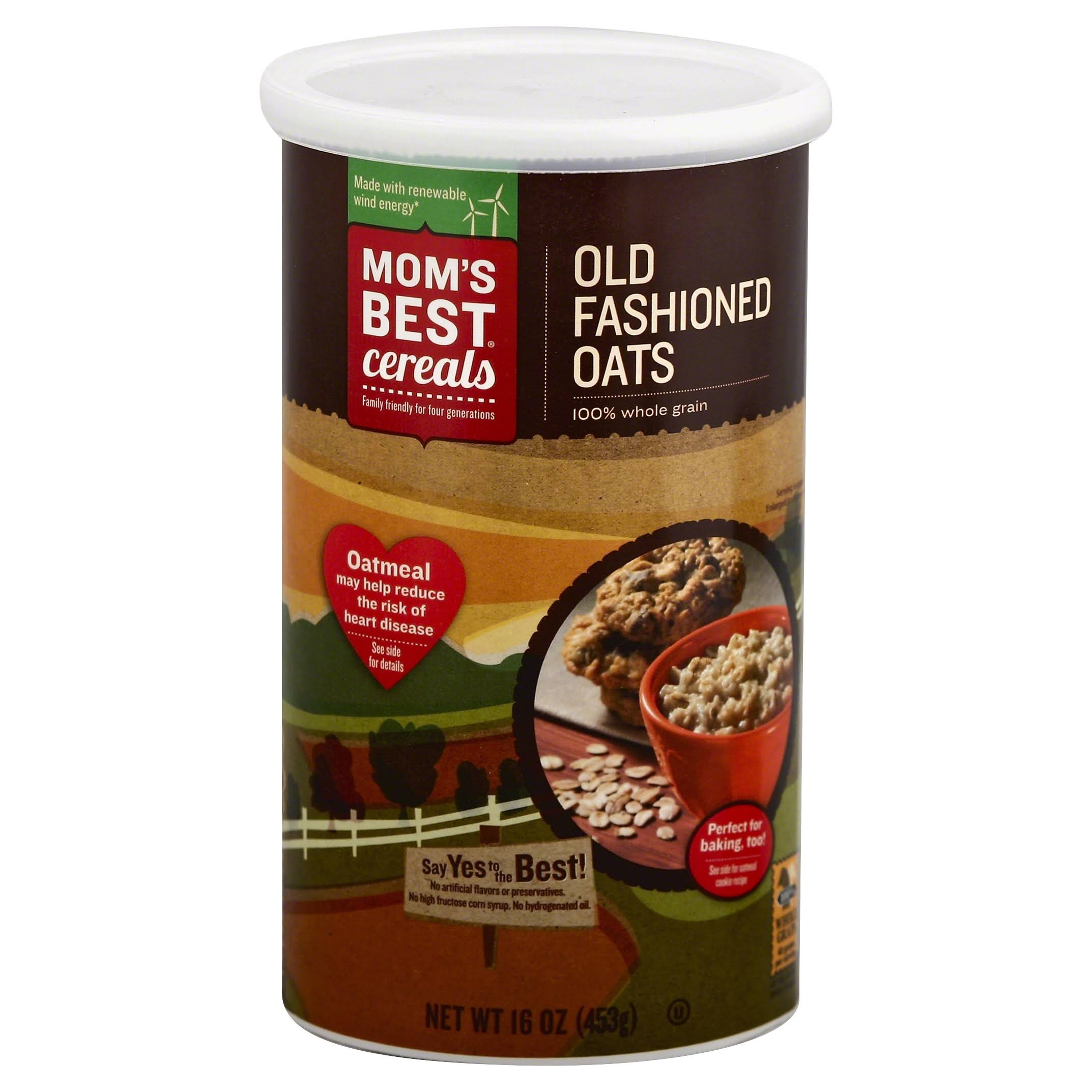 Moms Best Oatmeal, Old Fashioned Oats - 16 oz