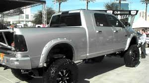 Lifted Dodge Ram 1500 With Black Rims, Off Road Tires 20 Inch Rims ...