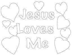 Surprising Design Ideas Jesus Loves Me Printable Coloring Pages Page