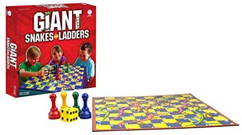 Pressman Toys Giant Snakes and Ladders Board Games