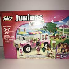 Lego Juniors Set#10727 Friends Emma's Ice Cream Truck 136 Pcs New ... Jual Diskon Khus Lego Duplo Ice Cream Truck 10586 Di Lapak Lego Mech Album On Imgur Spin Master Kinetic Sand Modular Icecream Shop A Based The Le Flickr Review 70804 Machine Fbtb Juniors Emmas Ages 47 Ebholaygiftguide Set Toysrus Juniors 10727 Duplo Town At Little Baby Store Singapore Icecream Model Building Blocks For Kids Whosale Matnito