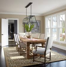 Modern Classic Transitional Dining Room New York by DeGraw