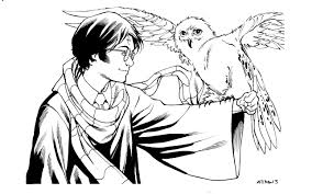 Download Coloring Pages Harry Potter To And Print