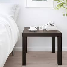 lack beistelltisch schwarzbraun 55x55 cm ikea österreich