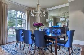 Image Of New Blue Dining Room