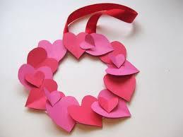 How To Make A Valentines Day Heart Wreath Kids Valentine Crafts