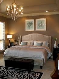 Hotel Chic Bedroom Modern Luxe Glam Gray And Blue Upholstered Cream Bed Bedrooms Design