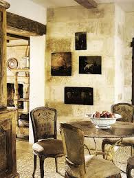 Aged Plaster On The Wall Offsets Art This Lovely French Homes