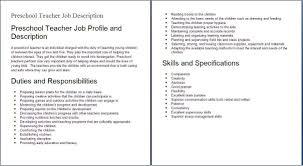 Daycare Director Job Description Samples