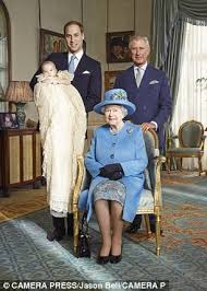 The Queen Also Wore It At Christening Of Her Great Grandson Prince George In