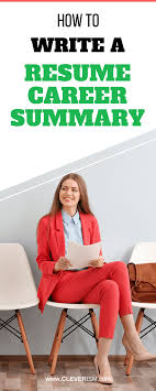 How To Write A Resume Career Summary | Cleverism 9 Career Summary Examples Pdf Professional Resume 40 For Sales Albatrsdemos 25 Statements All Jobs General Resume Objective Examples 650841 Objective How To Write Good Executive For 3ce7baffa New 50 What Put Munication A Change 2019 Guide To Cosmetology Student Templates Showcase Your