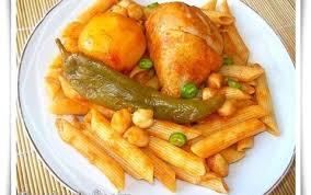 pate a la tunisienne pates tunisiennes au poulet