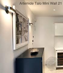 modern interior design talo21 small halogen wall sconce bathroom
