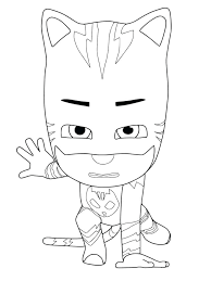 Coloring Pages For Pj Masks Best Of News Printable Pajama Hero Connor